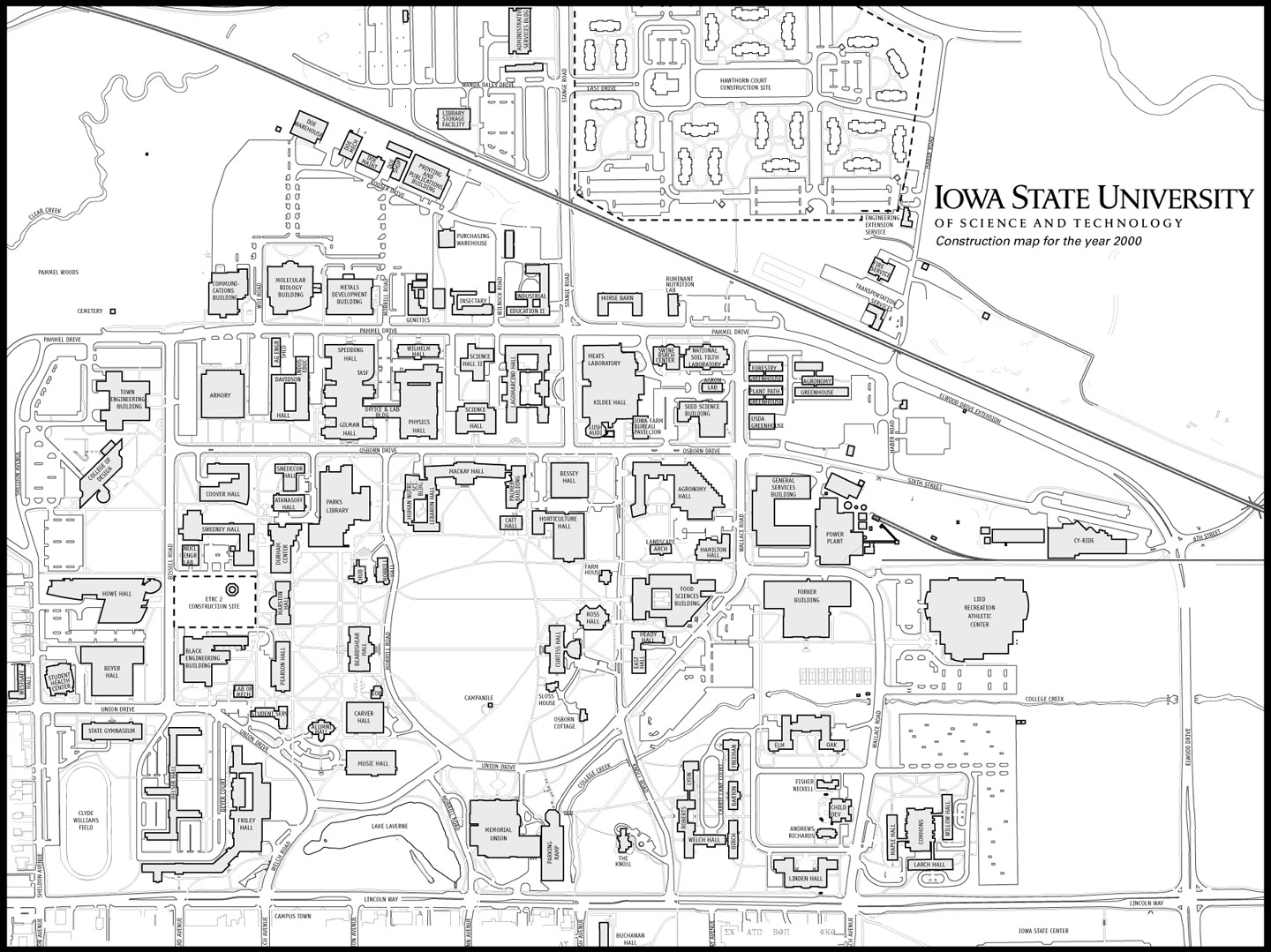 Awesome University Iowa Campus Map – Bressiemusic